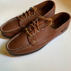 NEW G.H. Bass & Co Leather Boat Shoes